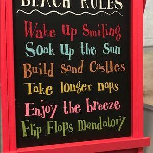 Cute chalkboard sign